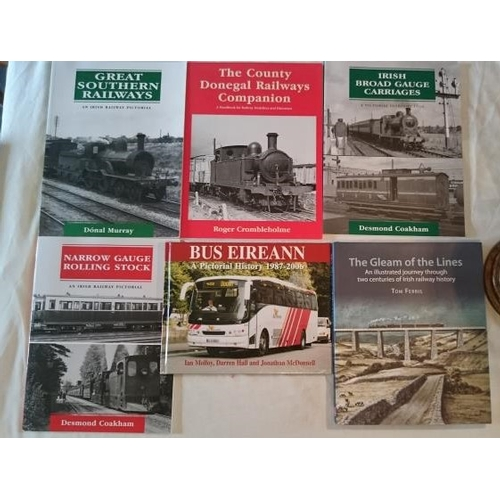 521 - Transport: The Gleam o fthe Lines  ((2011); Irish Broad Gauge Carriages; The Co. Donegal Railways Co...