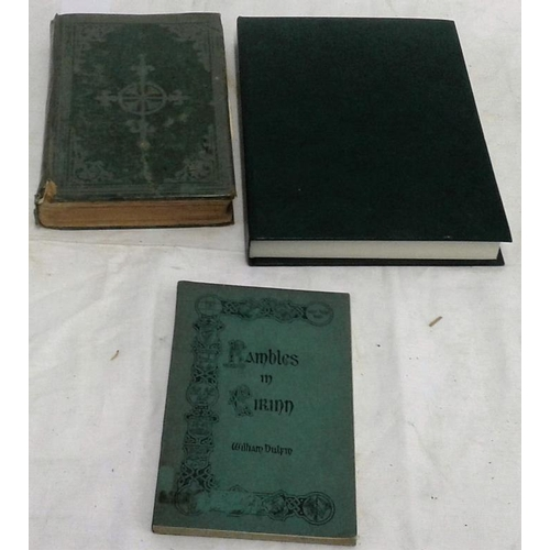 350 - T. l. Cooke, History of Birr  (1875)..reading copy; Bulfin Rambles in Eirinn (wraps; first such?). F...
