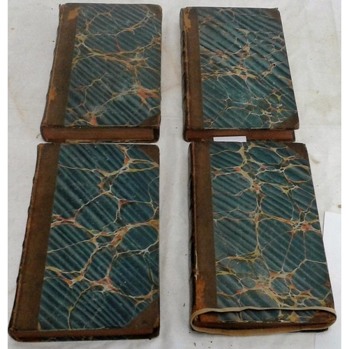 518 - A Classical Tour through Italy. Rev. Chetwode Eustace. London. 1821. 4 vols. Half-leather. Parsontow...