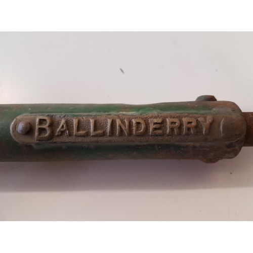 7 - Large Staff Knockmore Junction-Ballinderry with Key - 26ins...