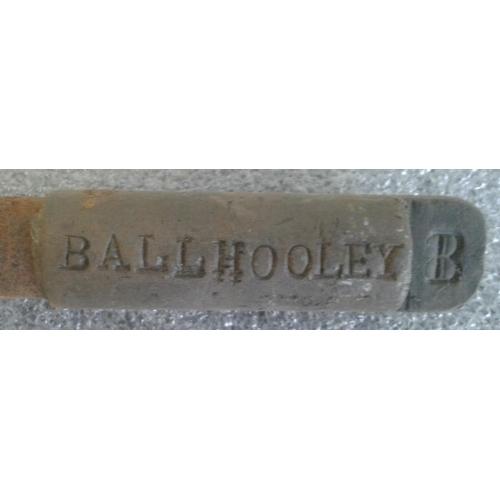12 - Small Steel Staff, Ballhooley to Castletown Roche - 9.5ins...