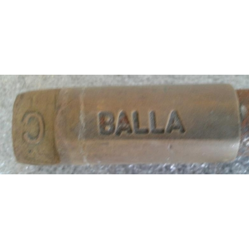 16 - Small Steel Staff, Ballina to Balla - 9.5ins...