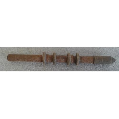 77 - Small Steel Staff, Ballymoe to Donamon - 9.5ins...