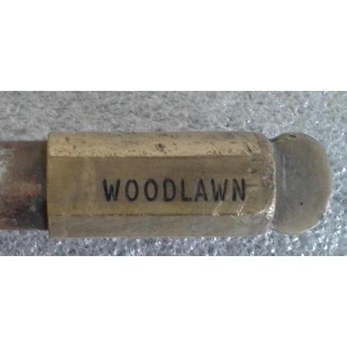 79 - Small Steel Staff, Ballinasloe to Woodlawn - 9.5ins...