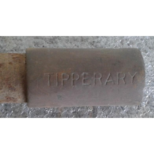 106 - Small Steel Staff, Limerick Junction to Tipperary - 7.5ins...