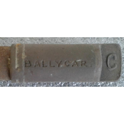 131 - Small Steel Staff, Ballycar to Clarecastle - 9.5ins...