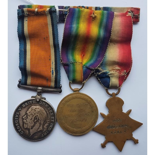 2 - Medal Group for J Quinn K.O.R.L.R. 11221 -