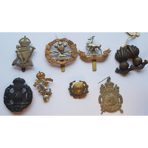 5 - Collection of Ten Various British Military Cap Badges...