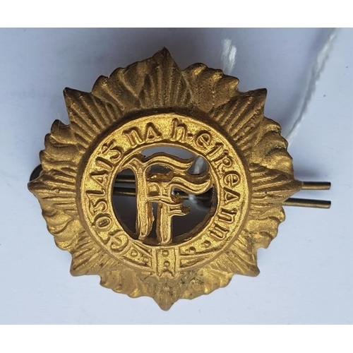 22 - Irish Army Cap Badge...