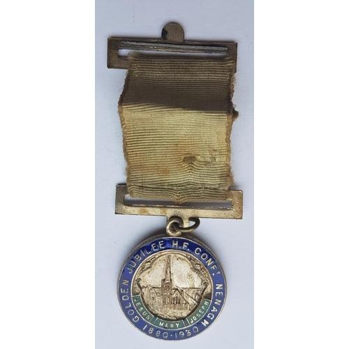 38 - Nenagh Church Golden Jubilee (1880-1930) - Jubilarian's Enamel Medal...