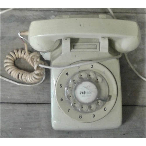 6 - White Telephone...