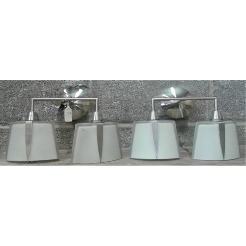 7 - Two Art Deco Style Wall Lights...