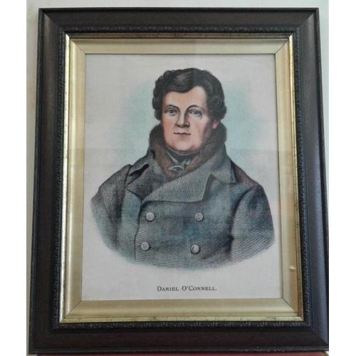17 - Daniel O'Connell Portrait - c. 23 x 27ins...