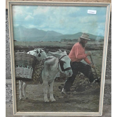 26 - Co. Kerry Bog Picture - Overall c. 12 x 14ins...