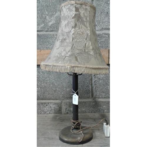 35 - Brass Table Lamp...