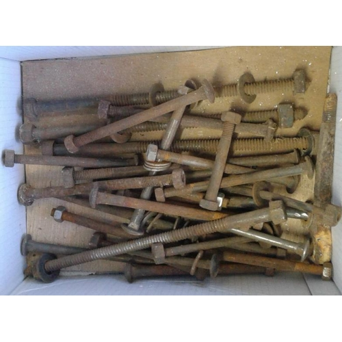 52 - Box of Furniture Nuts & Bolts...