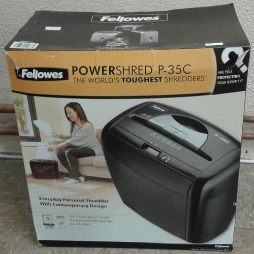 71 - 'Fellowes' Power Paper Shredder (new)...