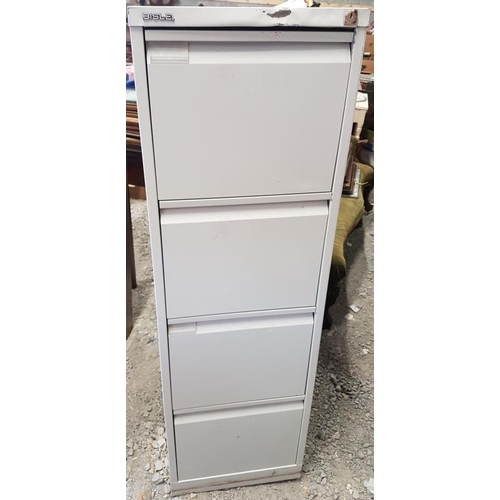 73 - Filing Cabinet with Key - 52ins tall...