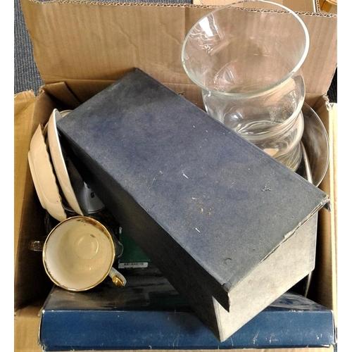81 - Box of Ceramics, Glassware, etc....