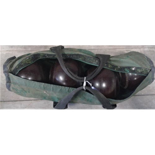 102 - Set of Lawn Bowls in Carrying Bag...