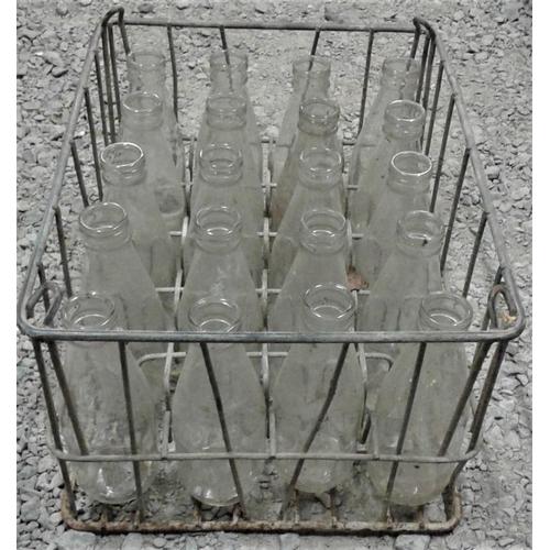 112 - Crate of 20 MBL Milk Bottles...