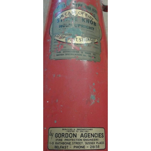 154 - Vintage Fire Extinguisher...