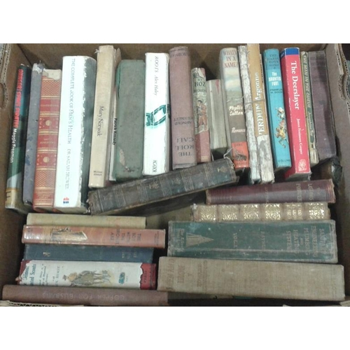 86 - Five Boxes of General Interest Books...