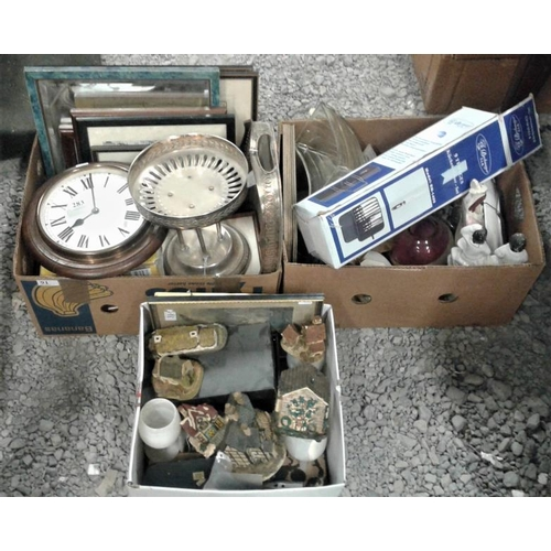 91 - Three Boxes of Ceramics, etc....