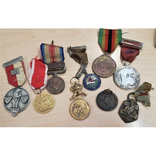 291 - Collection of Nine Various Medals, French, German etc....