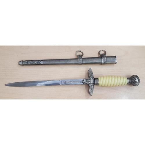 320 - Luftwaffe (2nd Type) Officer's Dagger (c,1940) - Replica...