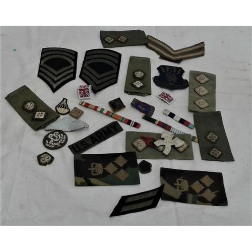 322 - Quantity of Military Badges, etc....