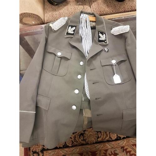 309a - German World War II SS Uniform, jacket and pants...