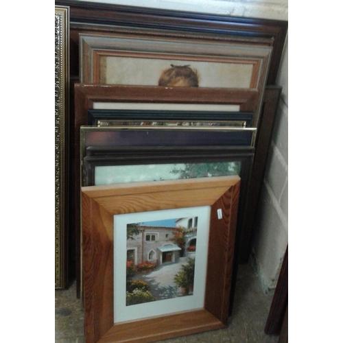 374 - Bundle of 10 Paintings/Prints...