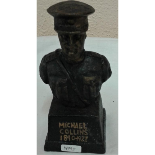 382 - Michael Collins Bust - 7ins tall...