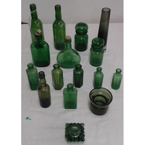 388 - Collection of Green Glassware...