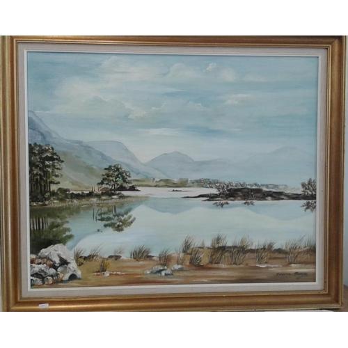 428 - Doreen Brown - OOB (Kilkenny Artist) - Overall c. 31 x 37ins...