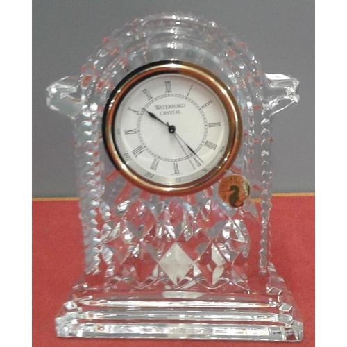 462 - Waterford Crystal Mantle Clock...