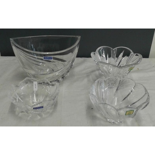464 - Waterford Crystal - Four Various 'Marquis' Bowls...