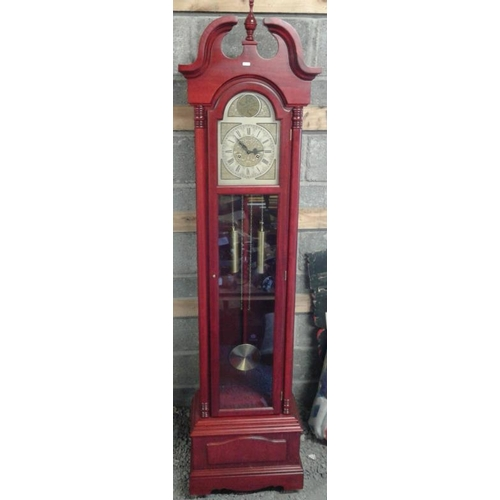 512 - Grandfather Clock (with key) - 80ins high 20ins wide...