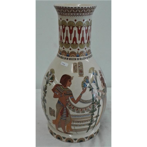 544 - Egyptian Style Vase - c. 16ins tall...