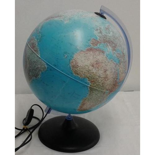 623 - Light-Up Globe, c.15in tall...