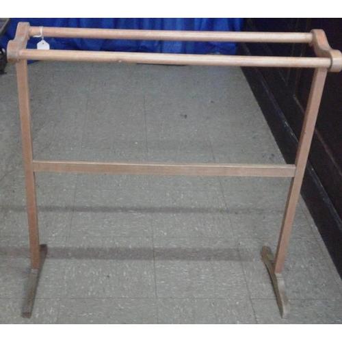 651 - Pine Three Bar Towel Rail...