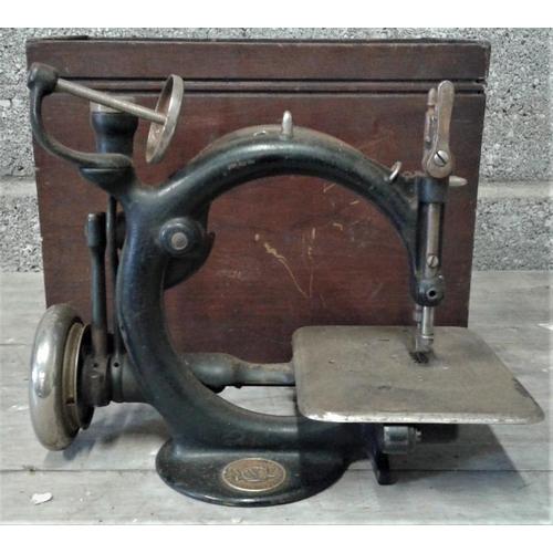 74A - Willcox & Gibbs Sewing Machine...
