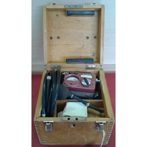 34 - Vintage Explosive Generator by Mine Safety Appliances Co Ltd...