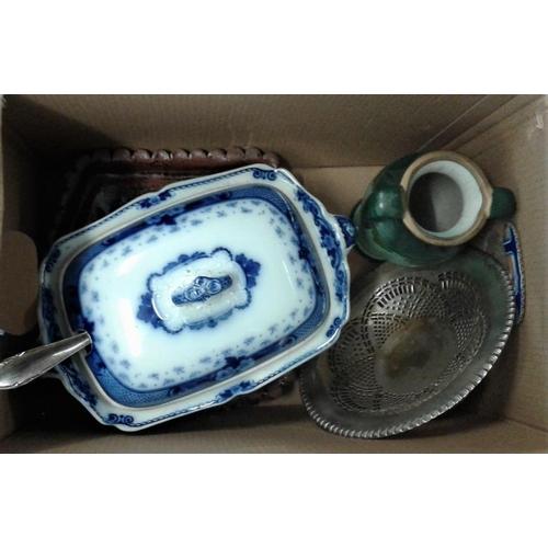 5 - Box of Various Ceramics, etc....
