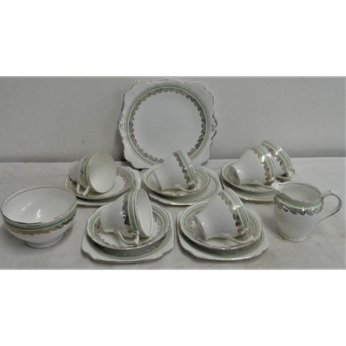 26 - Part 'Roslyn' China Teaset...