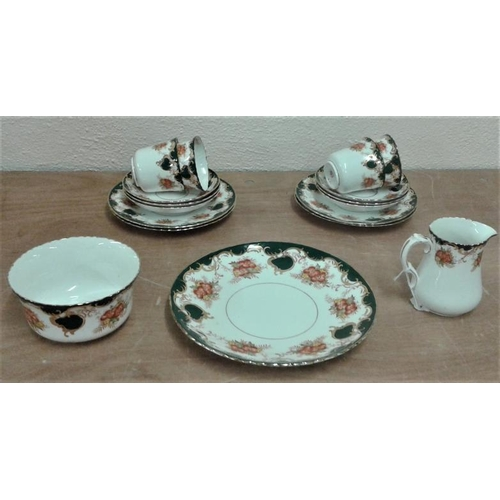 29 - Royal Windsor Teaset (17 Pieces)...