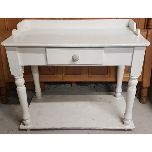 39 - Painted Pine Washstand - c. 38 x 34ins...