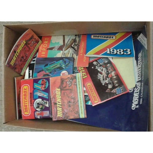 45 - Box of Toy Manuals, etc....