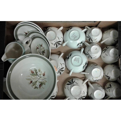 60 - Collection of Similar Tea/Dinner Wares (Alfred Meakin and Crown Goldendale)...
